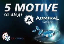 5 motive sa alegi admiral