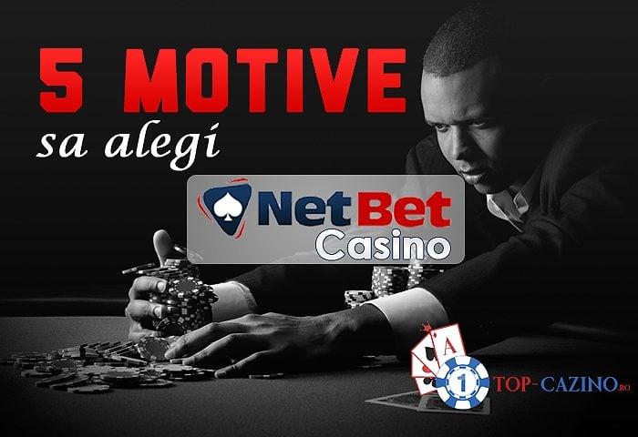 5 motive sa alegi Netbet Casino