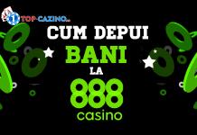 cum depui bani la 888 casino