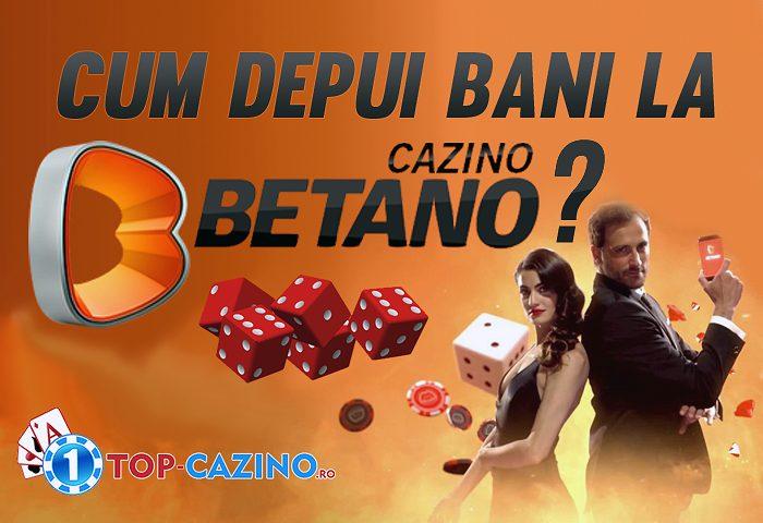 cum depui la betano casino online