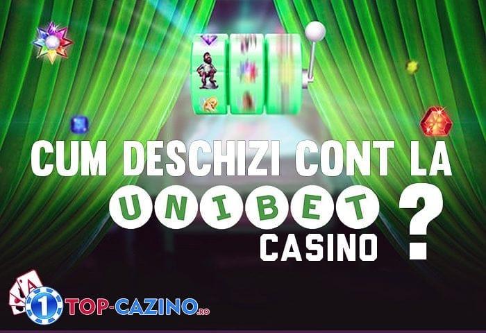 cum deschizi cont unibet casino