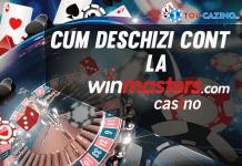 cum deschizi cont la winmasters casino