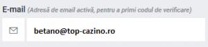 email cont betano casino