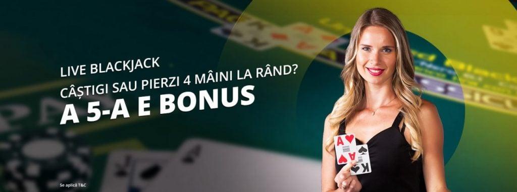 fortuna blackjack live 4 la rand