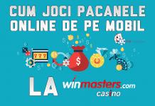 Cum joci pacanele online de pe mobil la winmasters