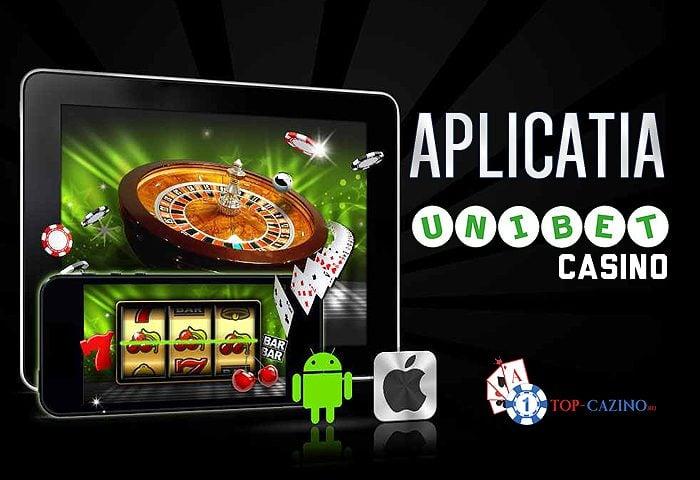 Aplicatia Unibet Casino