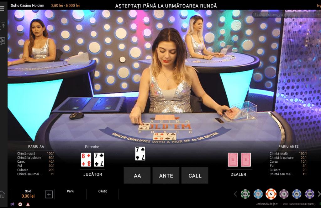 Jocuri cu dealeri live la Betano Casino