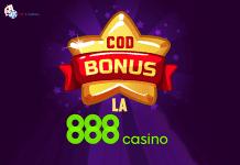 cod bonus la 888 casino