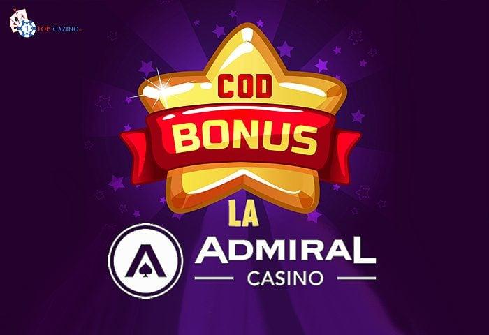 cod bonus la admiral
