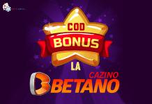 cod bonus la betano