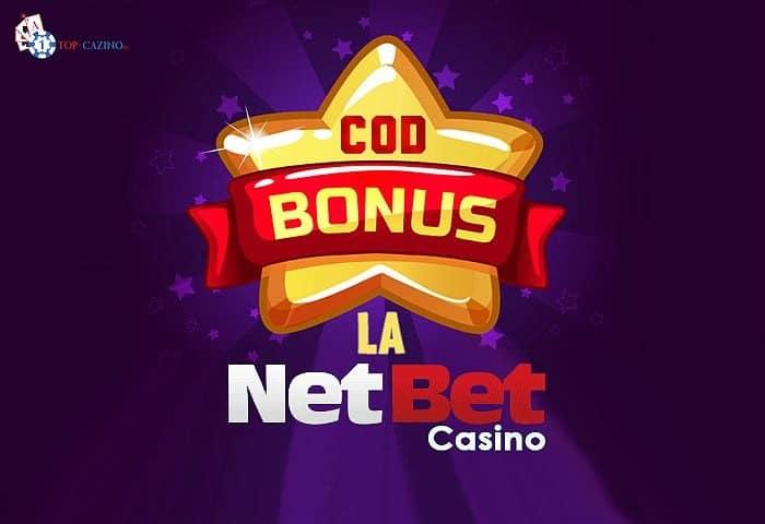 Cod bonus NetBet