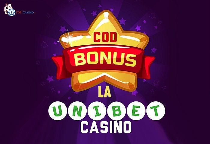 Cod bonus Unibet Casino