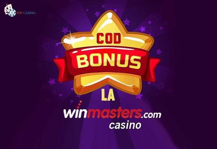 Cod bonus Winmasters Casino
