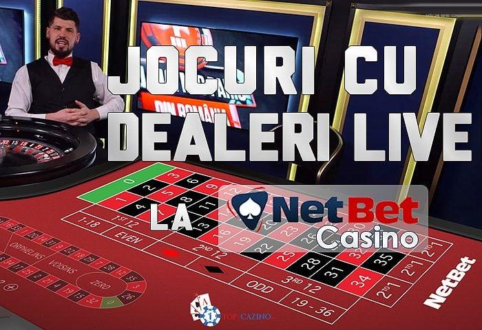 NetBet Casino Live – Dealeri Reali la Mesele de Joc
