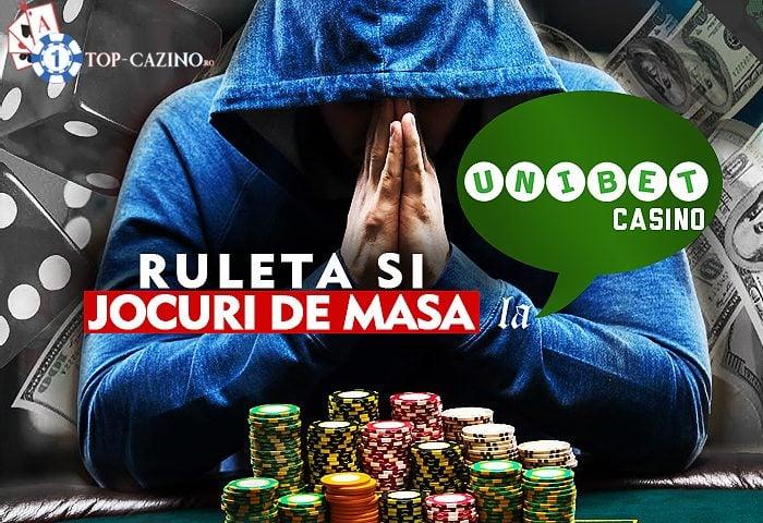 ruleta unibet casino si jocuri de masa