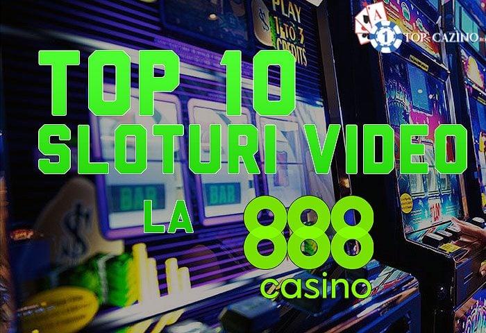 Top 10 sloturi video la 888Casino