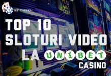 top 10 sloturi video la UNIBET