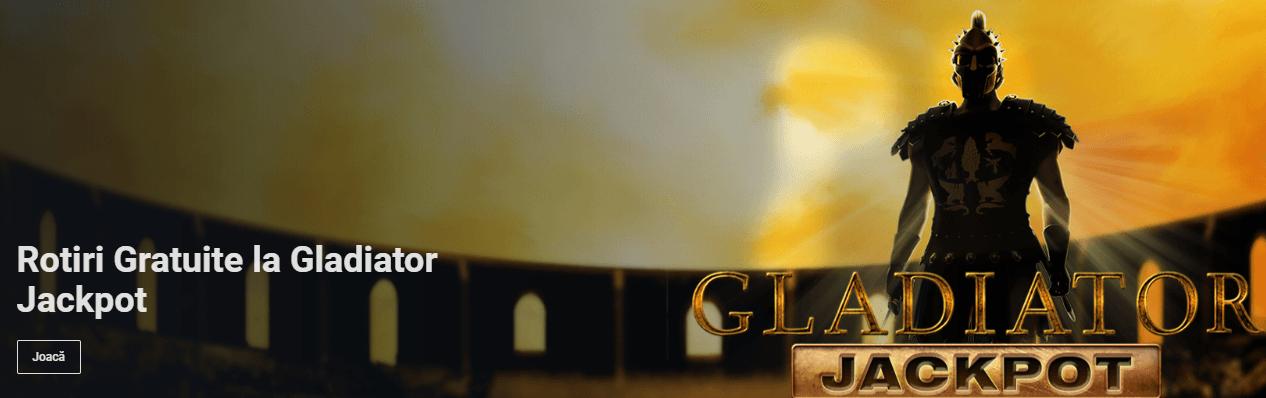 rotiri gratuite gladiator jackpot betano casino