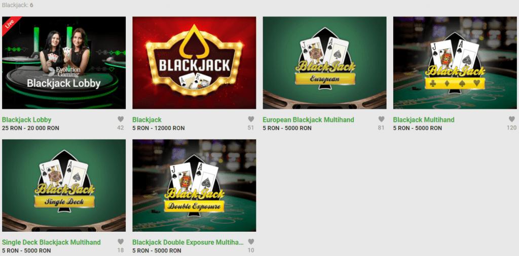 blackjack unibet