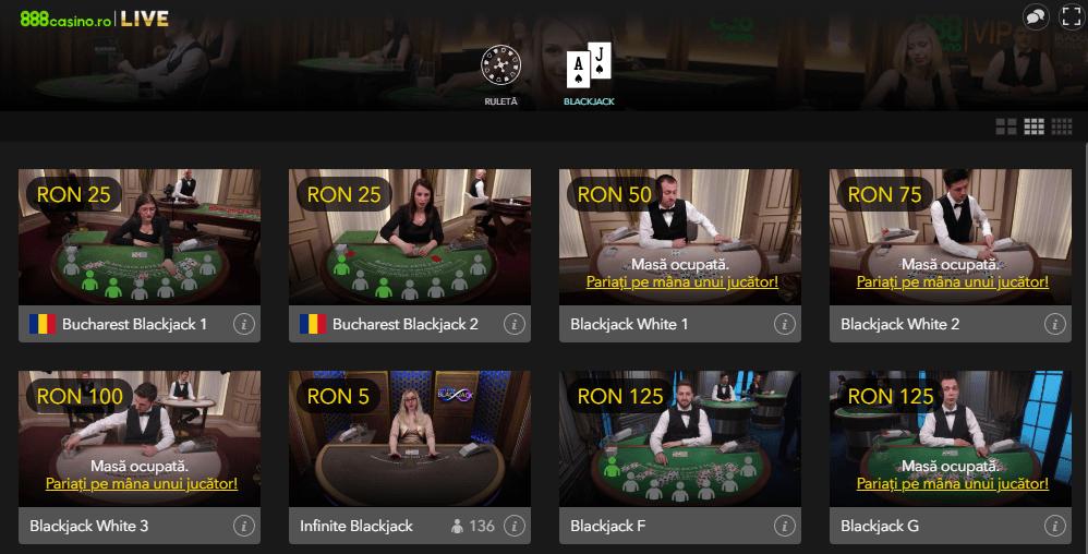 888Casino – bonus 1000 Ron