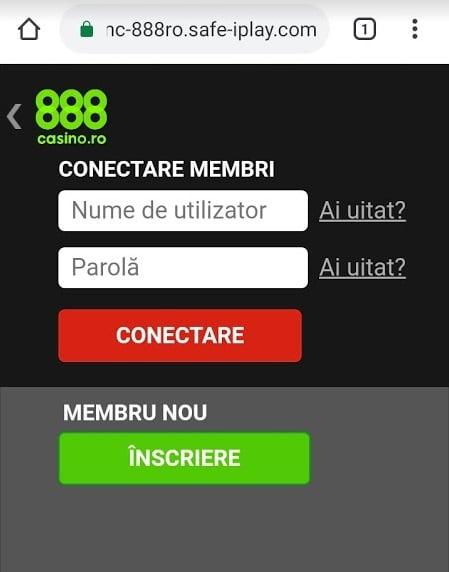 conectare 888 casino