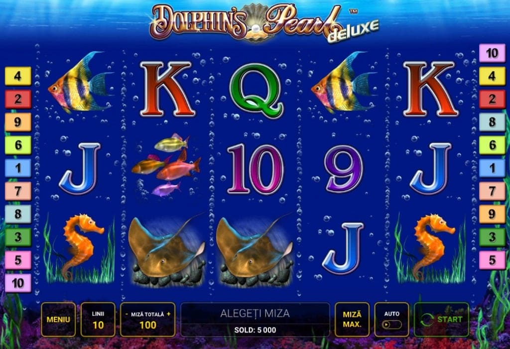dolphins pearl deluxe video slot