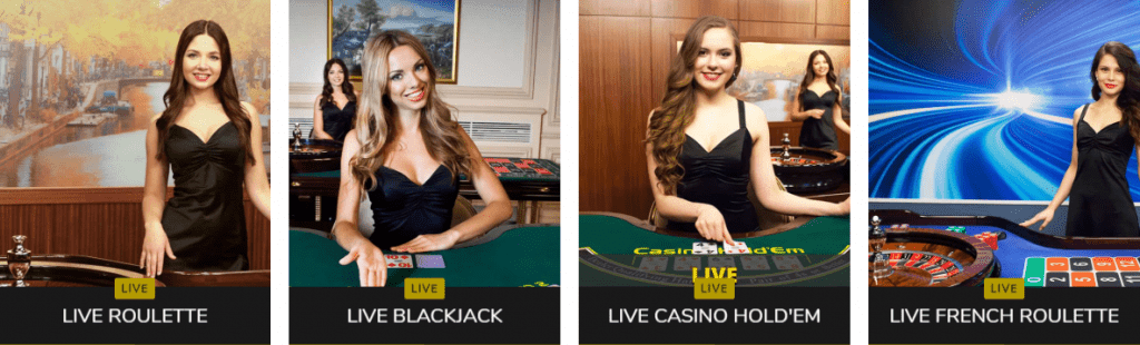 Jocuri cu dealeri live la Fortuna Casino