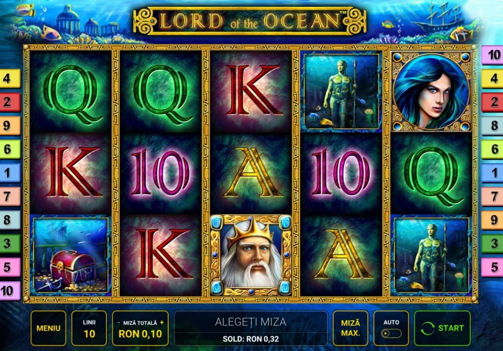 lord of the ocean - sloturi superbet de la novomatic