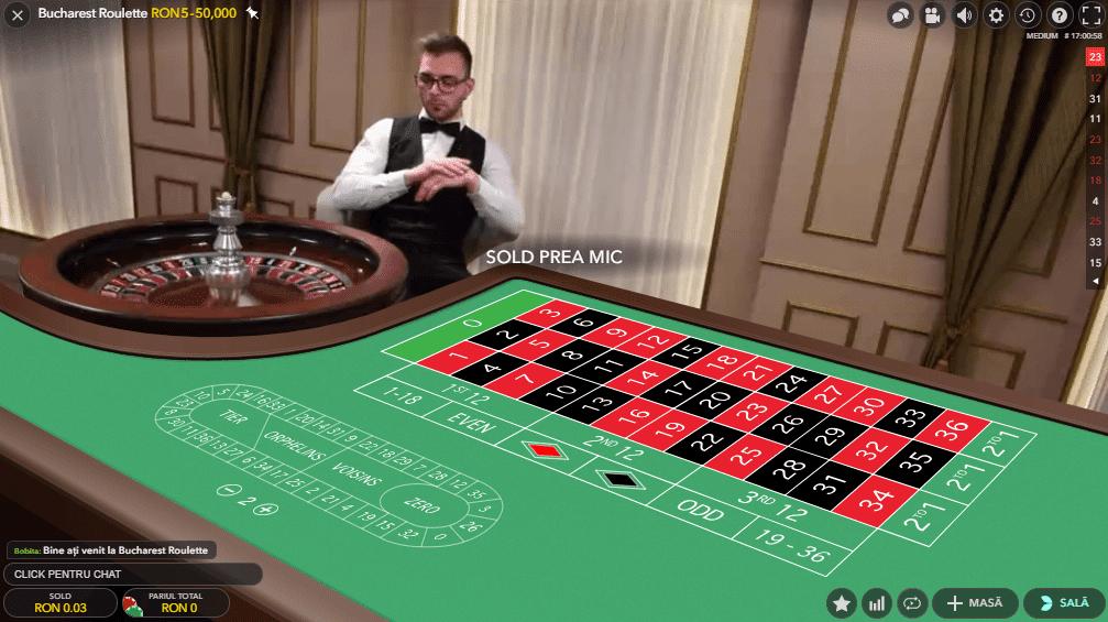 ruleta cu dealeri live la 888 casino 1