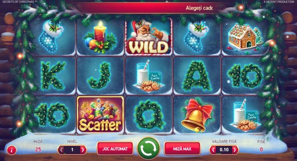 secrets of christmas - sloturi fortuna de craciun
