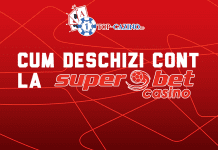 cum deschizi cont la superbet casino