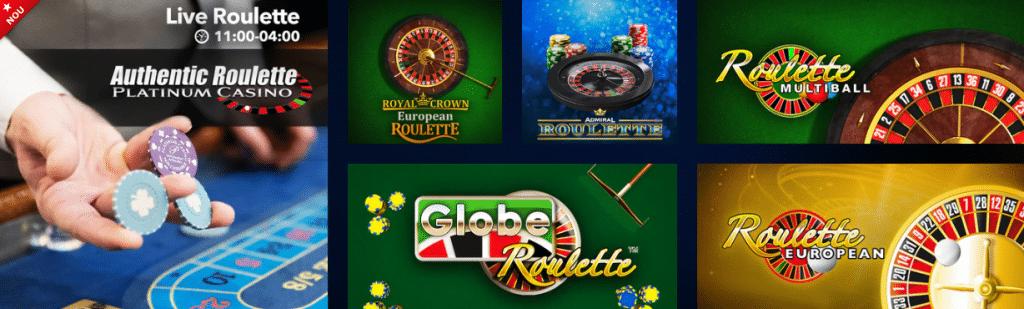 Ruleta si jocuri de masa la Admiral Casino