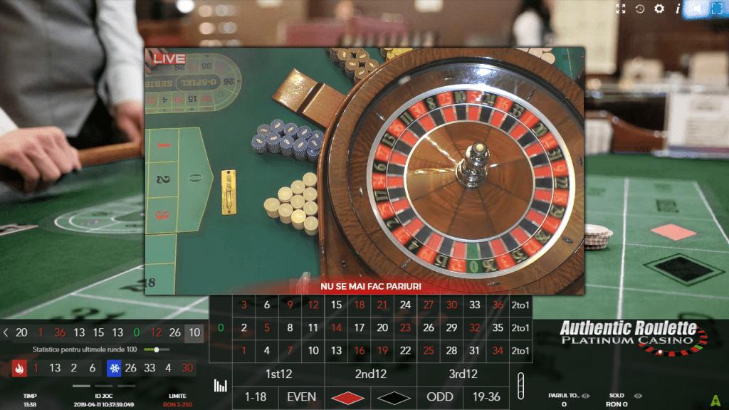Jocuri cu dealeri live la Admiral Casino
