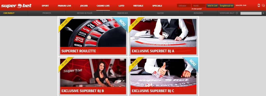 Pareri Superbet Casino
