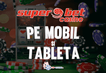 superbet casino pe mobil si tableta
