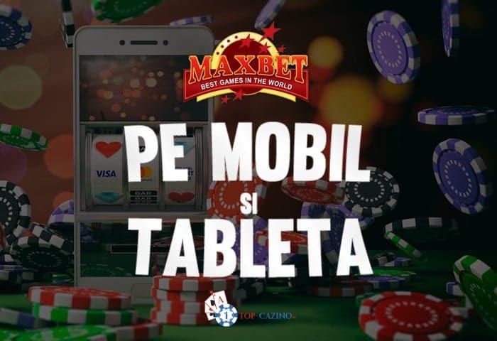 maxbet casino mobil si tableta