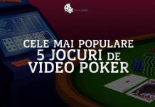 Cele mai populare 5 jocuri de video poker