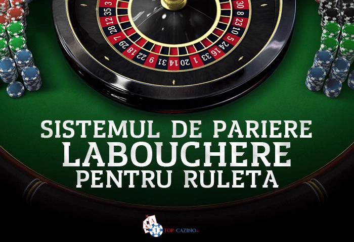 Sistemul de pariere Labouchere pentru ruleta