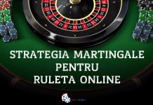 Strategia Martingale pentru ruleta online