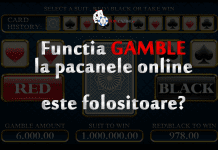 functia gamble la pacanele online este folositoare