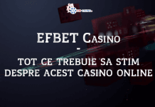 Efbet Casino tot ce trebuie sa stim despre acest casino online