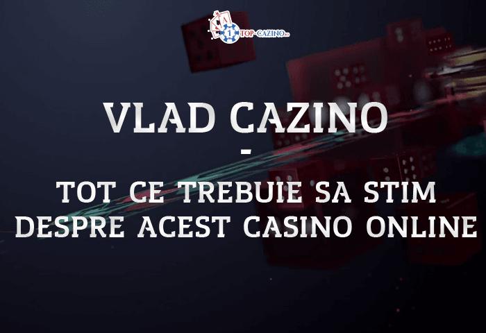 Vlad Casino Online – Bonus Inregistrare