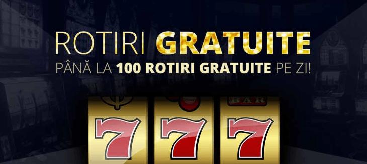 pana la 100 rotiri gratuite zilnic sportingbet casino