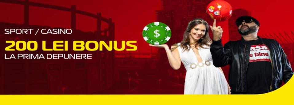 bonus casa pariurilor casino