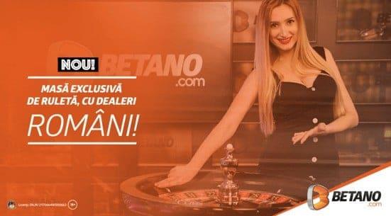 ruleta live cu dealeri romani - betano cazino