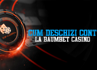 Cum deschizi cont la BaumBet Casino