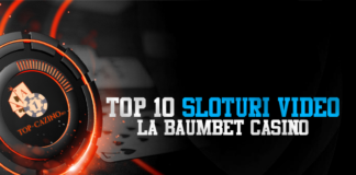 Top 10 sloturi video la BaumBet Casino