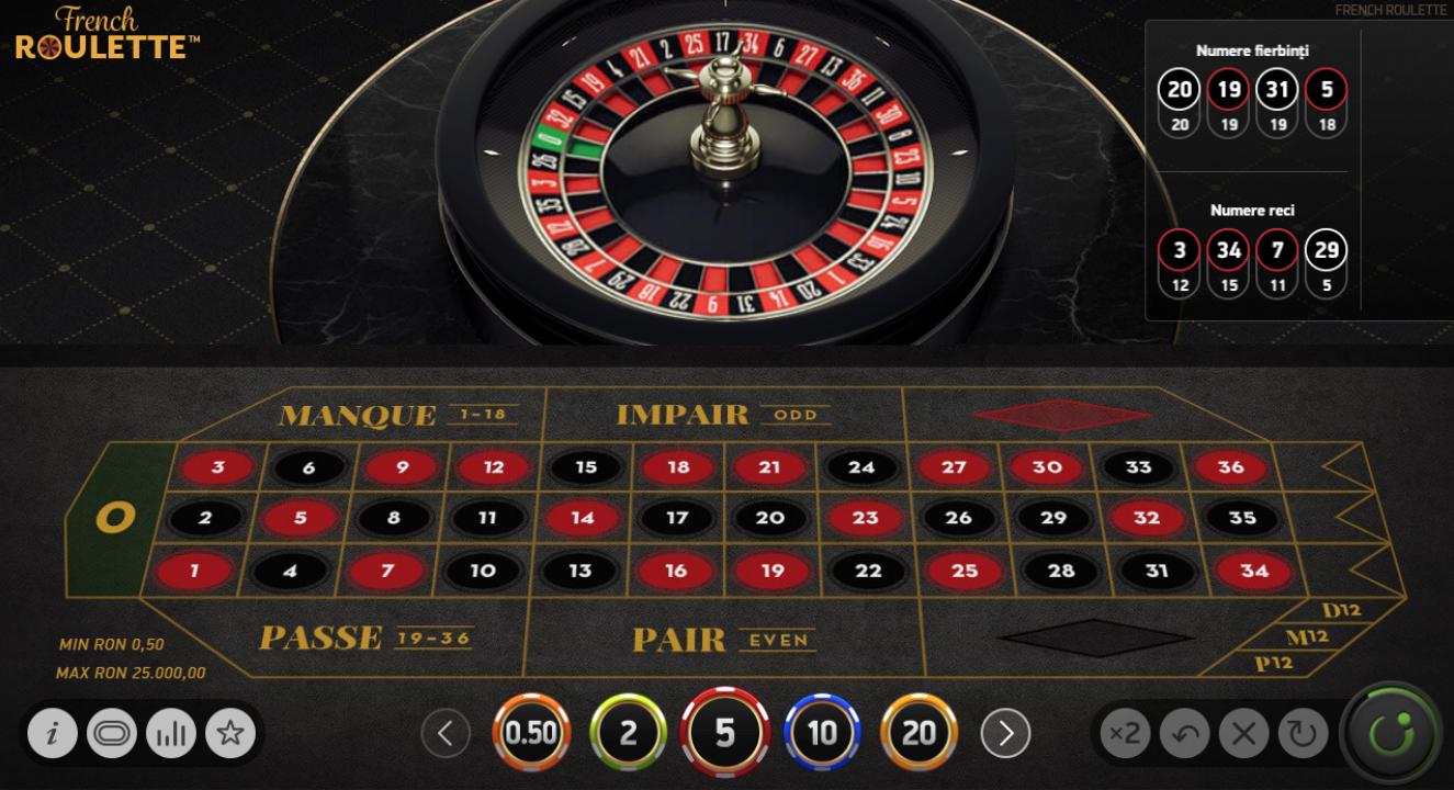 Ruleta si jocuri de masa la BaumBet Casino