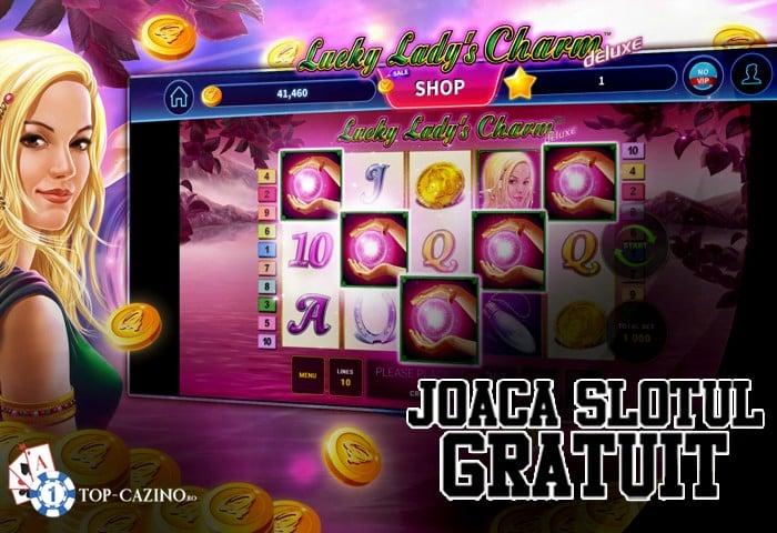 Lucky Lady's Charm Deluxe – Joaca Gratuit