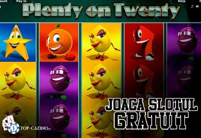 Plenty on Twenty – Joaca Gratuit